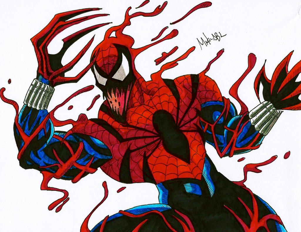 Spider carnage by mikees on deviantart - Spider carnage ben reilly ...