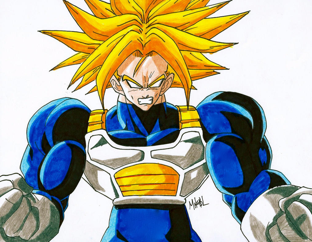 Trunks SSJ2 By MikeES On DeviantArt