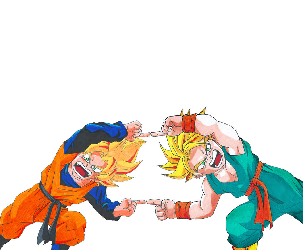 Goten and Trunks fusion by MikeES on DeviantArt