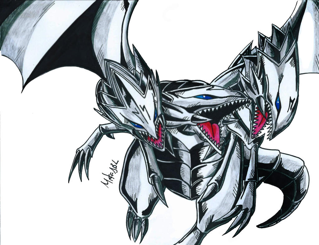 blue eyes ultimate dragon by mikees on deviantart