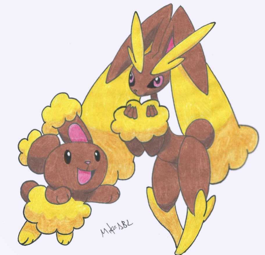 Buneary and Lop... Lopunny