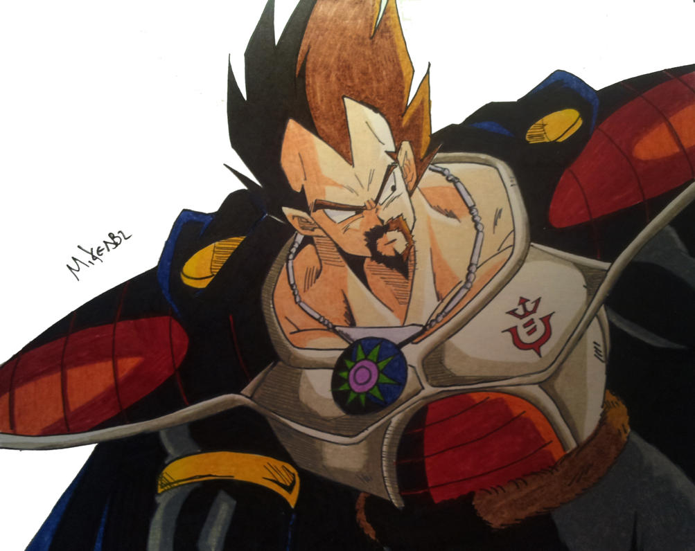 King Vegeta by MikeES