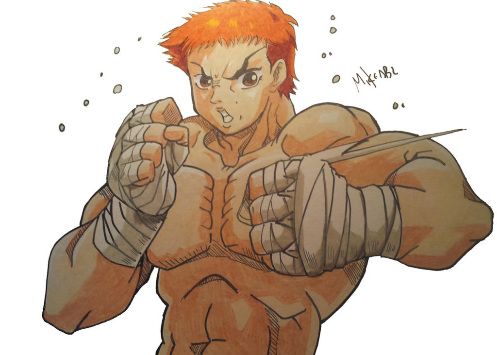 Baki Hanma by MikeES