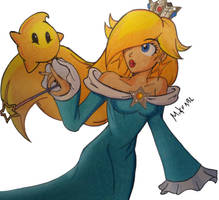 Rosalina and Luma by MikeES