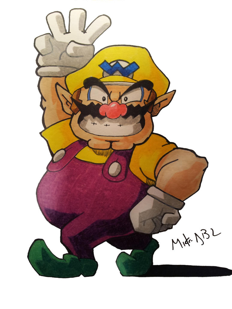 Wario by MikeES
