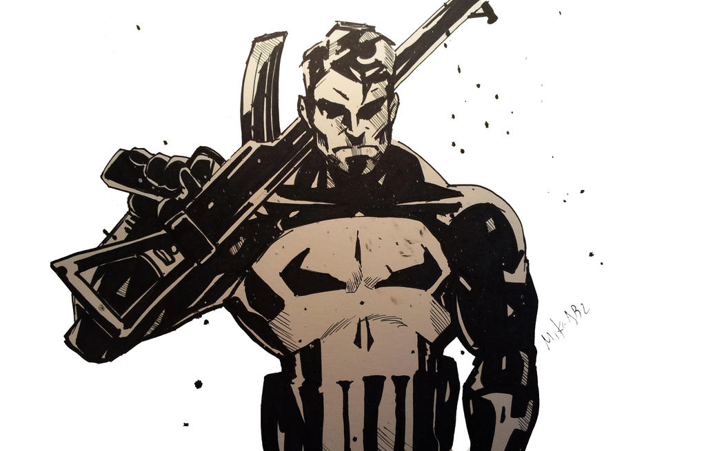 The Punisher by MikeES