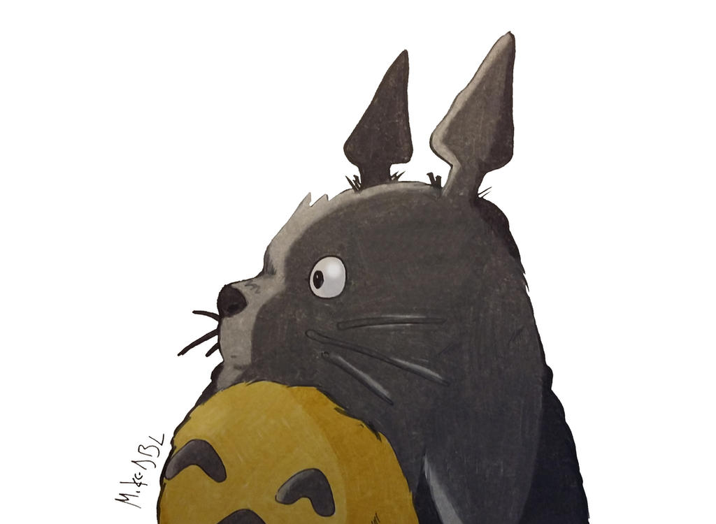 Totoro by MikeES