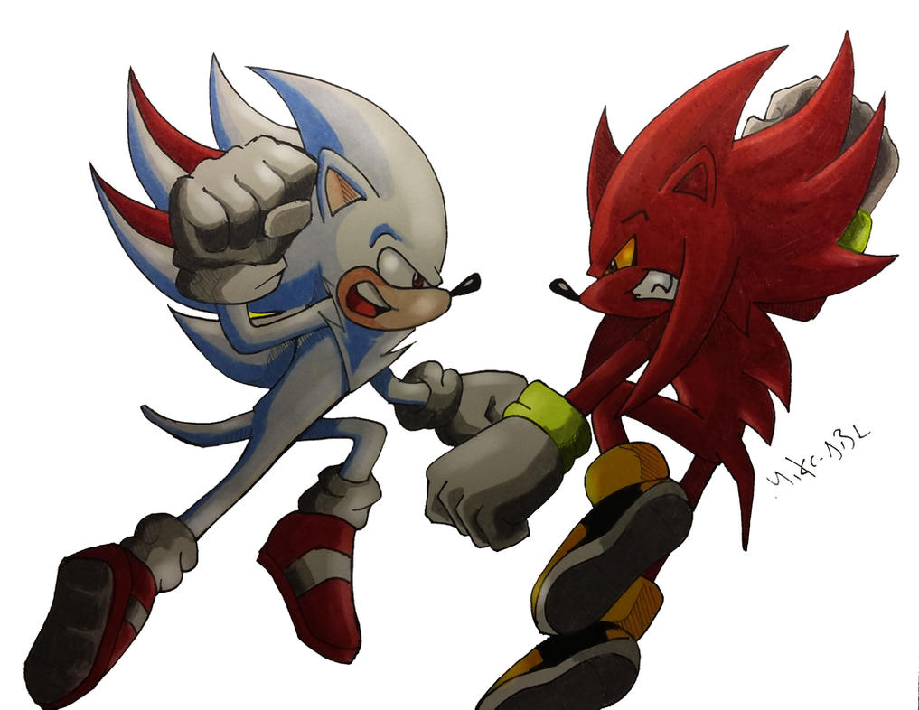 Shadic Vs Perfect Nazo by MikeES on DeviantArt