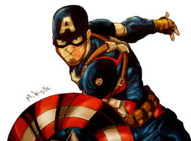 Captain America by MikeES