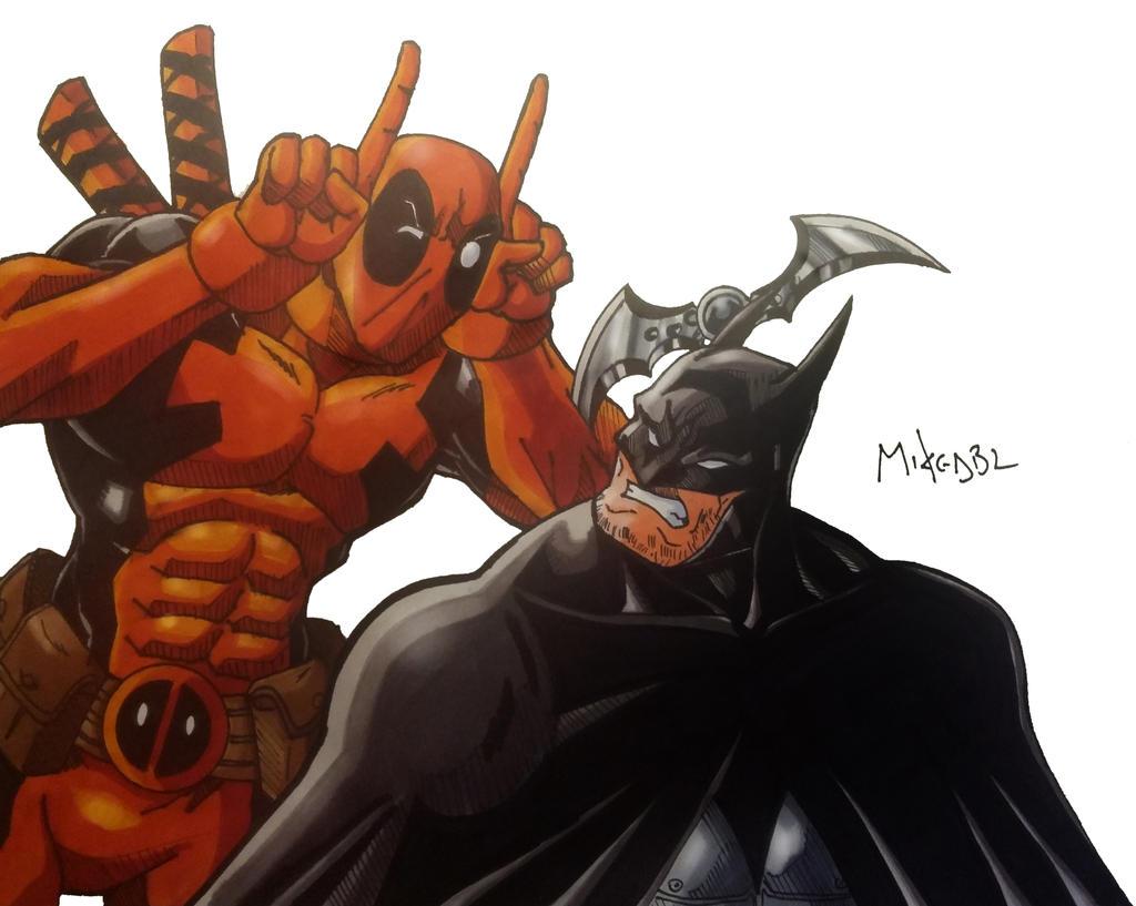Batman Vs Deadpool By MikeES On DeviantArt