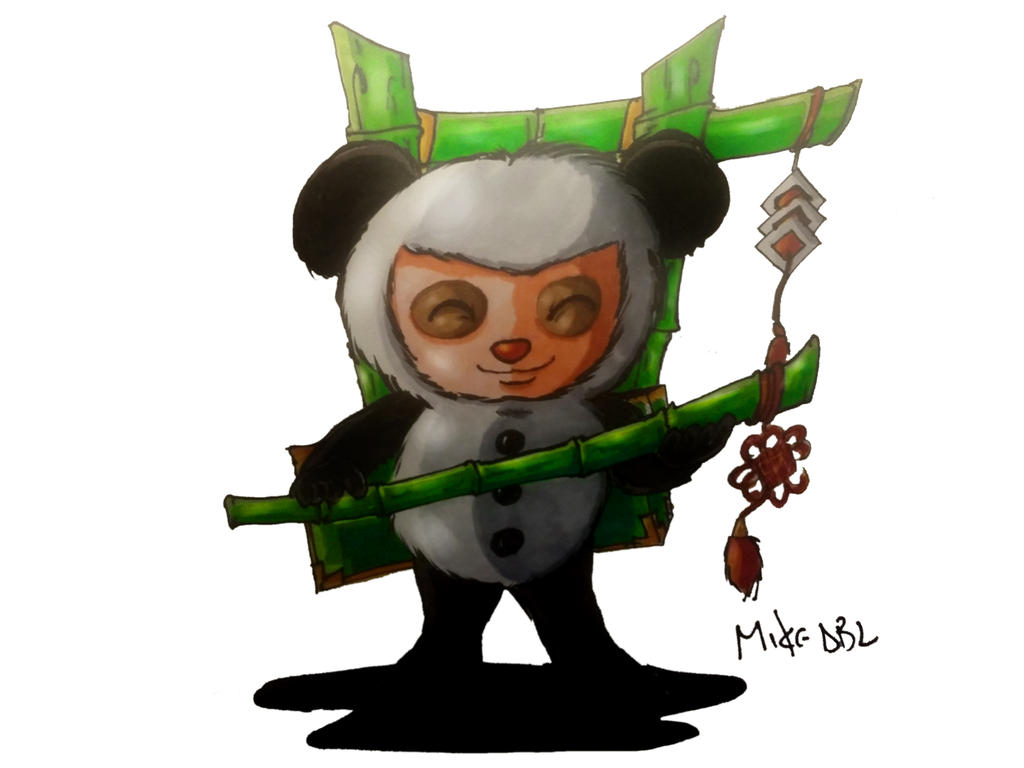 Teemo (Panda) by MikeES