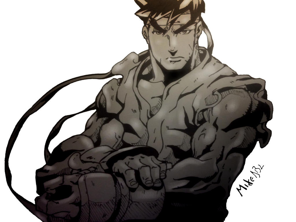 Ryu by MikeES