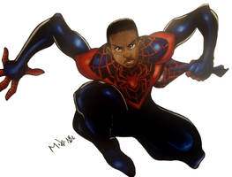 Miles Morales by MikeES