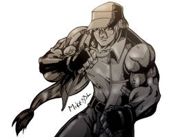 Terry Bogard by MikeES