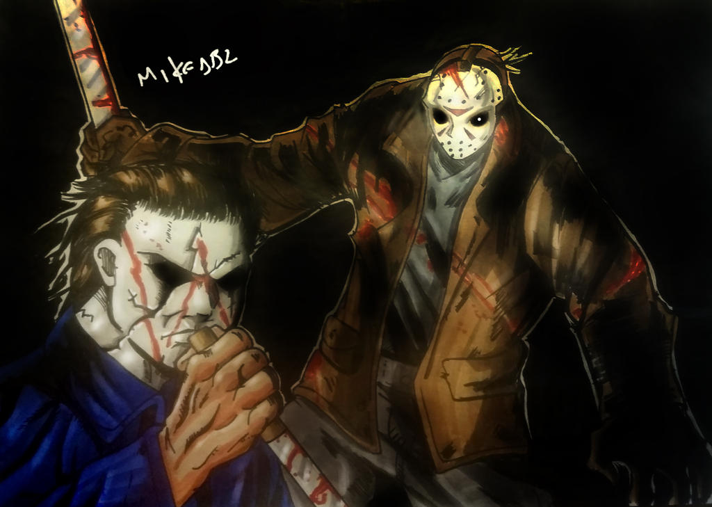 Jason Voorhees Vs Michael Myers By MikeES