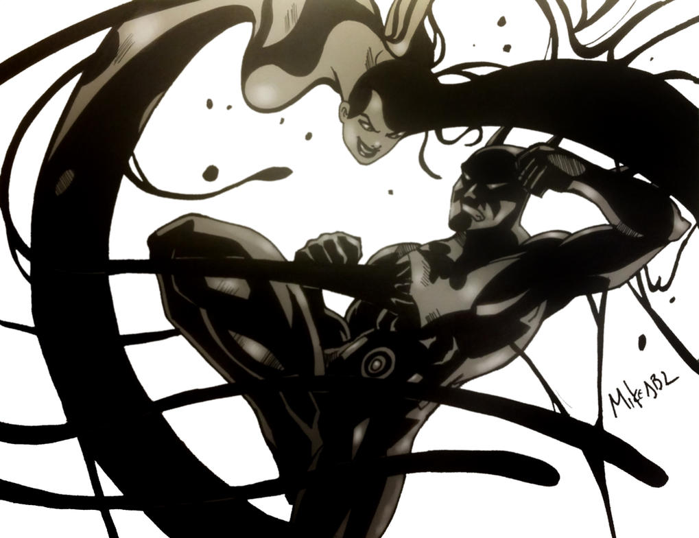 Batman Beyond Vs Inque by MikeES on DeviantArt