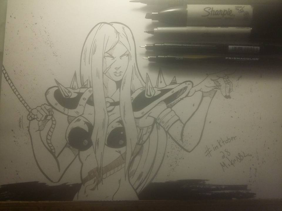 Inktober 28 by MikeES
