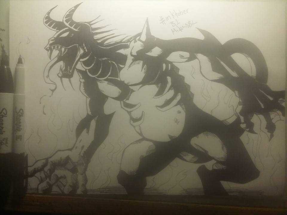 Inktober 31 by MikeES