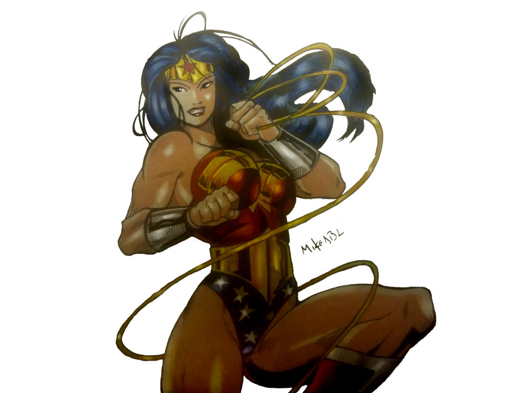 Wonder Woman by MikeES