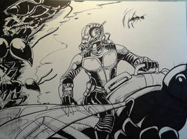 Ant Man Inks by MikeES