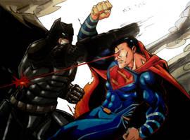 Batman V Superman Colors (Final) by MikeES
