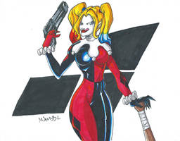 Harley Quinn Scan by MikeES