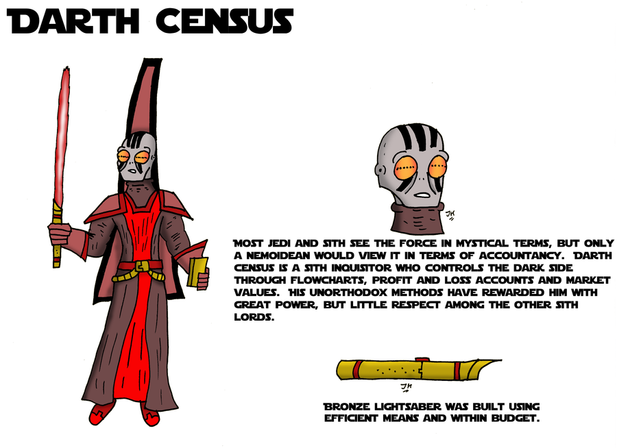 DARTH CENSUS by JohnnyFive81