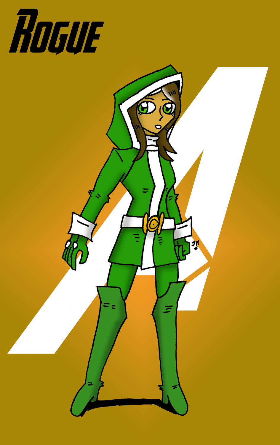 MARVEL NOW ROGUE by JohnnyFive81 on DeviantArt
