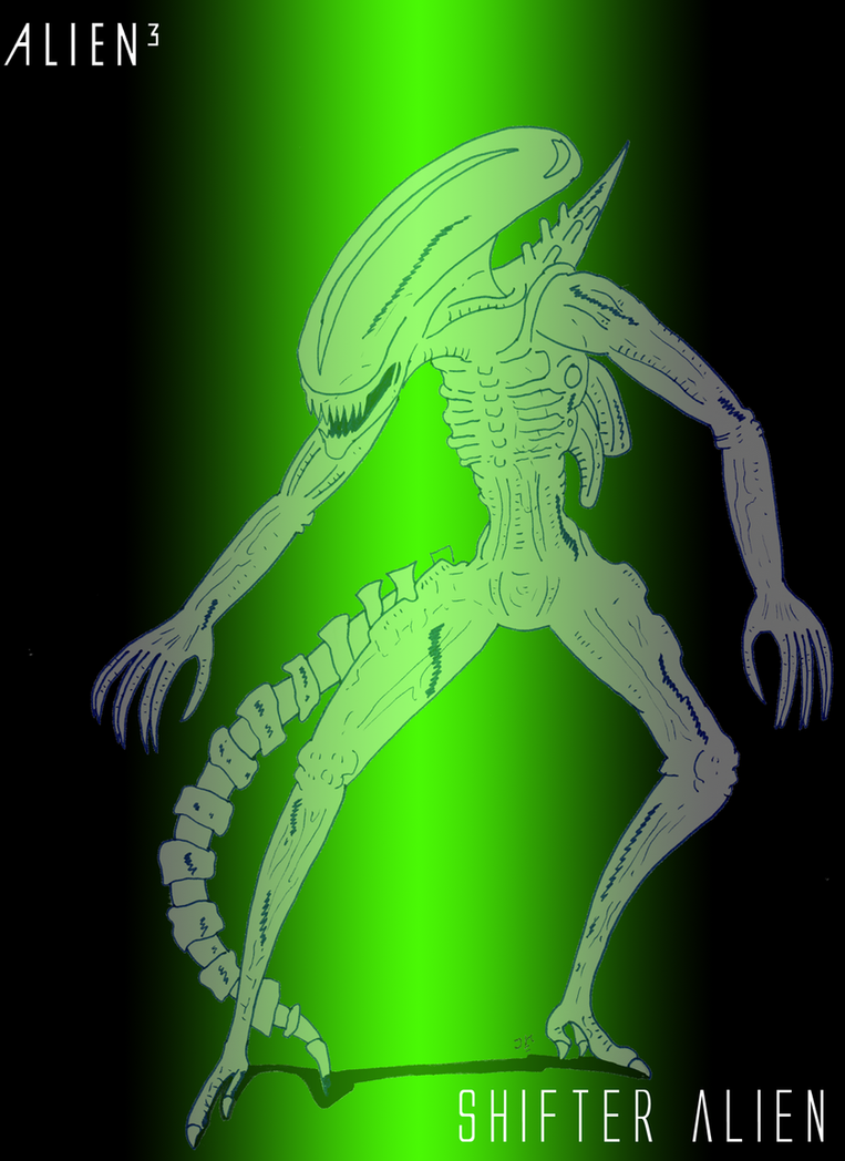 Shifter Alien by JohnnyFive81