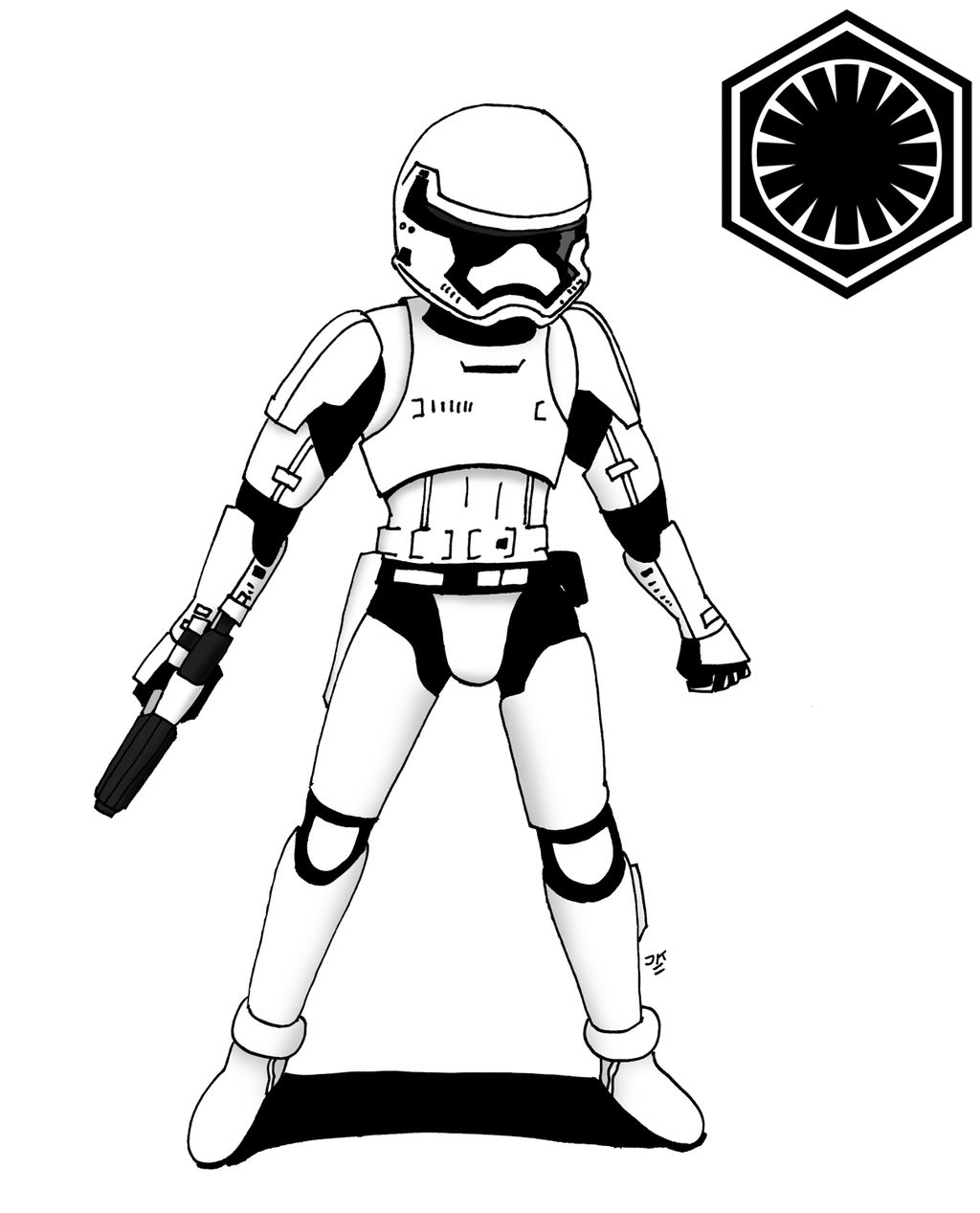 first order stormtrooper coloring pages - photo#33