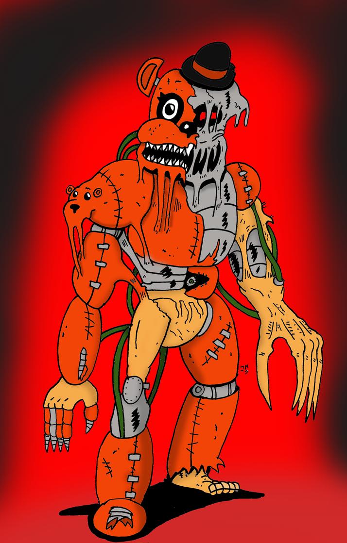 Demon Freddy by JohnnyFive81