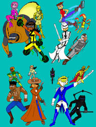 Complete International Heroes by JohnnyFive81