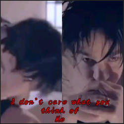 i don't care what you think of me- adam gontier