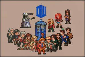 Doctor Who gang (02/2014) by Jelizaveta