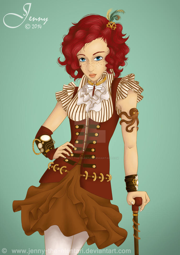 Steampunk-Princess 2 by Jenny-the-Elentari