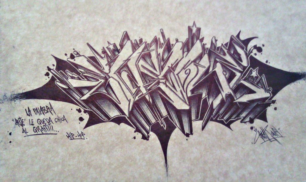 graffiti by ZolARone
