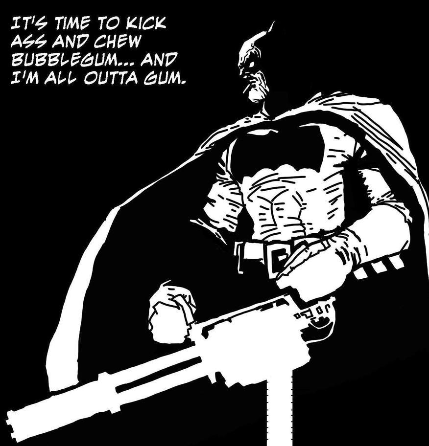 Miller's Batman by undeadbilly