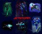 Beast Machines Jetstorm wallpaper by AlphaPrimeDX