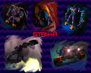 Beast Machines Strika wallpaper