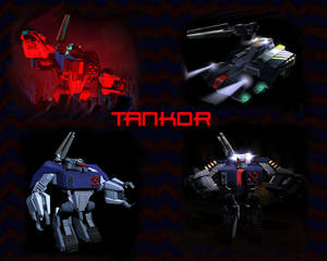 Beast Machines Tankor wallpaper