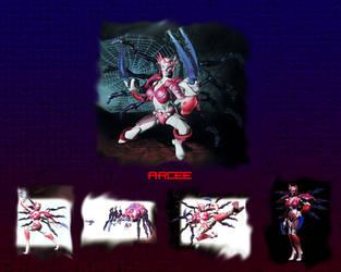 Beast Machines Arcee wallpaper by AlphaPrimeDX