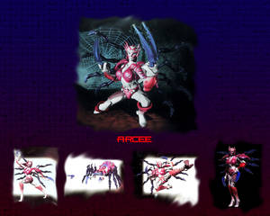 Beast Machines Arcee wallpaper