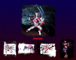 Beast Machines Arcee wallpaper