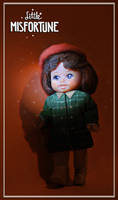 Little Misfortune Doll fan!