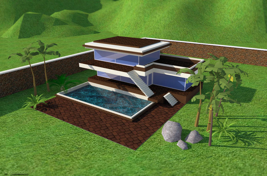 Modern house design I by KarolinaJakubowska on DeviantArt