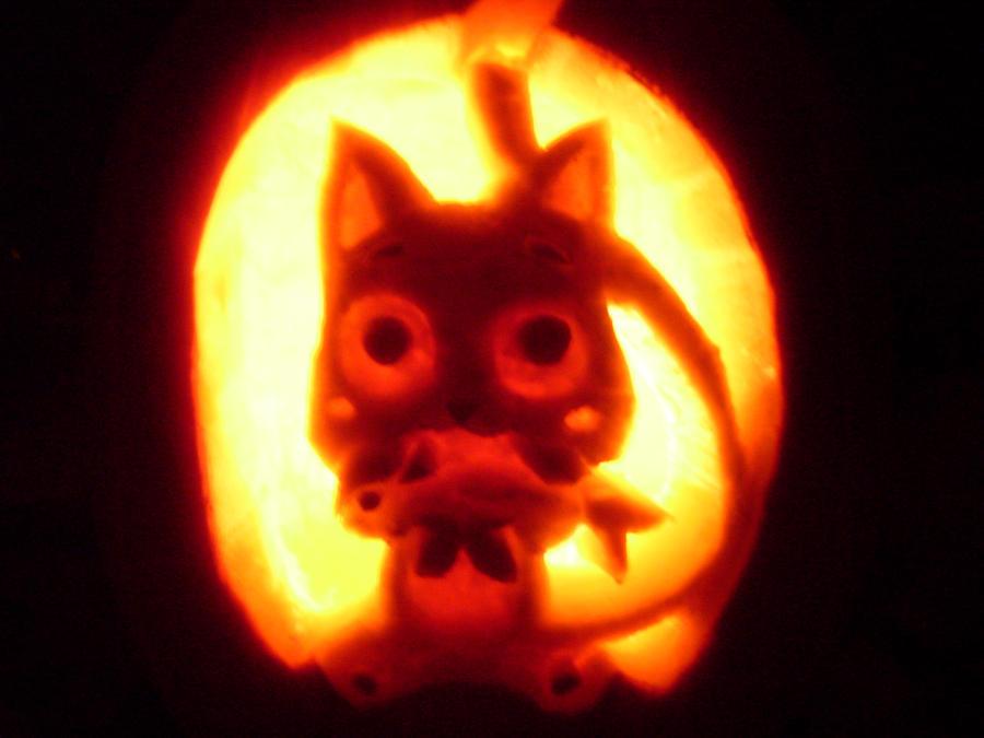 happy pumpkin by kimba616 on deviantart