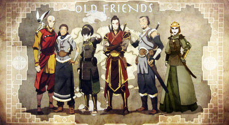 Old Friends + Suki by Kimba616