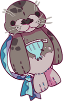 [BAG] - harbor seal - by fayfia