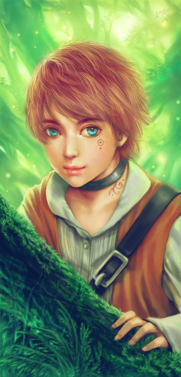 Boy In The Forest By Davidmccartney On Deviantart