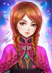 Fan Art- Anna by pakkiedavie